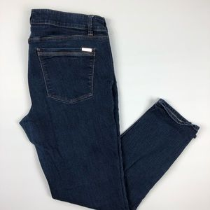 White House black market skimmer jeans 12